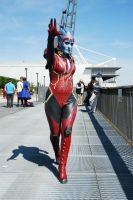 Mass Effect's Samara by darrynonline
