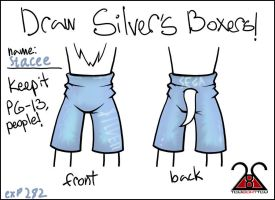 Silver's Boxers by EXP282
