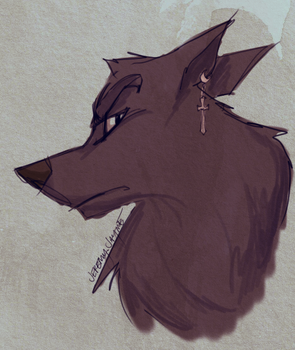 Wolf Ares by jaymetwins