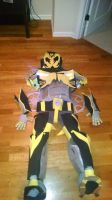 bumblebee costume almost done by Lilscotty