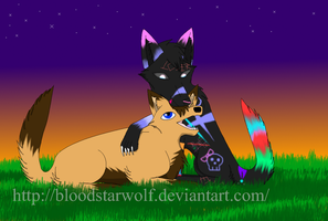 Sisters-Request by BloodStarWolf