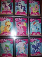 MLP Trading Card Collection 1 by MasteroftheContinuum