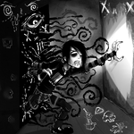 The black wall's seep by Corpse-boy