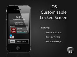 iOS Lock Screen by halokon