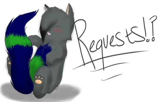 FREE REQUESTS by WolfPawzArt