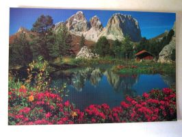 Five thousand pieces finished by Santian69