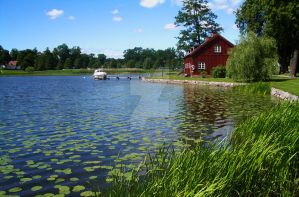 Sweden idyll by MsGolightly