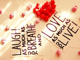 Live. Love. Laugh. by madasrabbitsLV