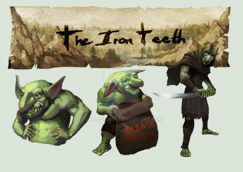 The Iron Teeth by carloscara