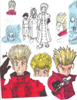 Trigun oldies by Marimokun