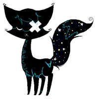 My New Shadow Cat, Vulpecula! by mindlessmutt