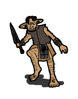 Cave Goblin Scout by TheReptilianGeneral
