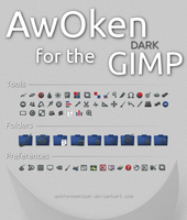 AwOken DARK for the GIMP by Astronommican