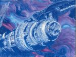 100 Theme Challenge - 009 - Blue - Babylon5 redraw by Firiel-Archer