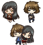 [Commission] Mini Chibi Batch 8 by Asuhinee-Adopt