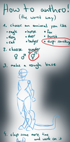 how to anthro censored version by Eelea