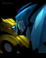 Bee x Blurr by ANDREAc