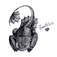 toothless by HotoHota