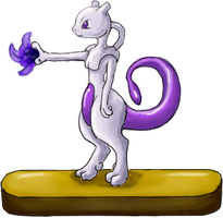 Mewtwo Again by kristhasirah