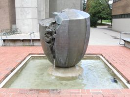 University - Fountain by The-Camo