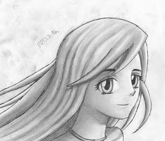 Fluttershy Human by GravityTHunder