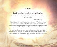 Bible Refresher 1 - Trust by pipoca6694