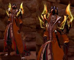 Mairon (Sauron) in Aion : Level 57 by fallenRazziel