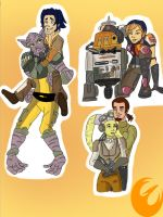Star Wars Rebels: Family Moments by AvengerBlackwidow