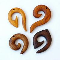 Wooden spiral necklaces 1 by BDSart