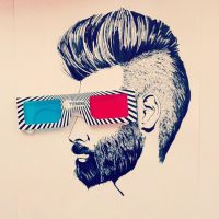3D sunglasses by mojazil