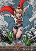 Superman The Legend - Supergirl 2 by tonyperna