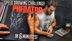 PREDATOR SPEED DRAWING CHALLENGE VIDEO! by Lovell-Art