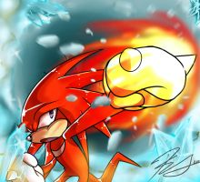 One Hour Sonic#2:Knuckles Ice Crusher by SEGAmastergirl