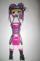 cyber goth color by sasukeluvsmemore