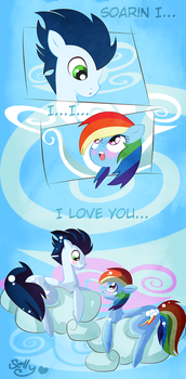 I love you, Soarin by Sellyinwonderland