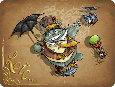 Totoro Steampunk by MecaniqueFairy