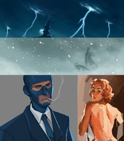 Sketchdump by fivetinsoldiers