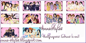 Pack Wallpapers  K-on by AnneChan34