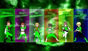 Digimon Gokaiger Greens for asrockrpg by rangeranime