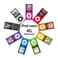 iPod nano 4G Dock Icons by SkyJohn