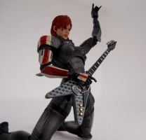 Femshep rocking out by Homicide-Crabs