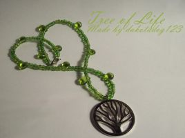 Tree of Life Necklace by thistlesis