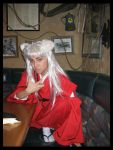 Inuyasha at AppleBees by jac