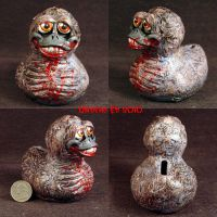 Rot Duck Coin bank Dead Daffy by Undead-Art