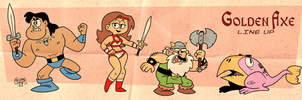 Golden Axe by BezerroBizarro