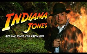Indiana Jones and the Chase for Excalibur by Joran-Belar