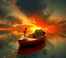 Life Of Pi by kingwicked