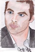 Chris Pine by DeviouslyInked