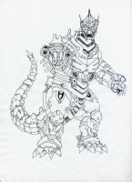 MechaGodzilla by Scotwith1T