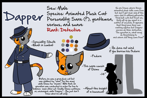 Dapper Ref Sheet by chubird